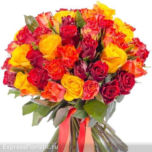 Букет роз для Овнов
